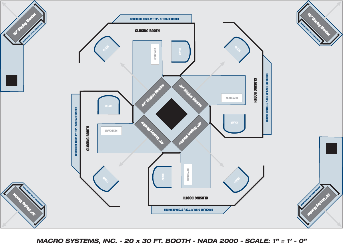 Booth floor plan software onvacations wallpaper for Trade show floor plan